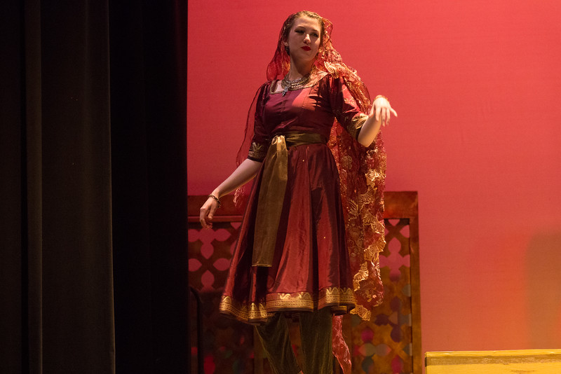 "Lalume exits (""If you knew, it would only make you angry"") -- Kismet, Montgomery Blair High School spring musical, April 15, 2016 performance (Silver Spring, MD)"