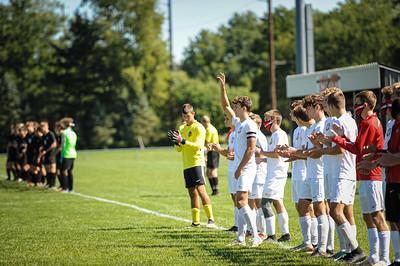 9-19-20 BHS Boys Varsity Soccer vs Ashland