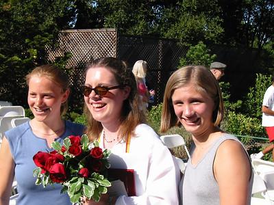 Casti Graduation, June 2001
