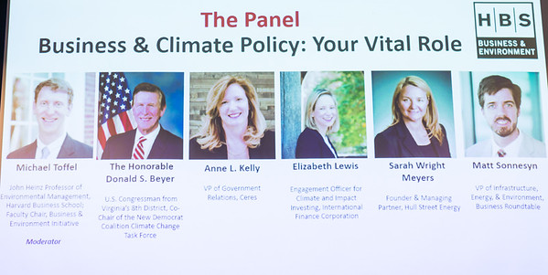 HBS Business & Climate Policy