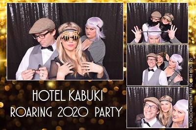 Hotel Kabuki's Roaring 2020 Party
