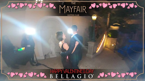 The Mayfair Supper Club - 360 Revolve - Valentine's Day 2020