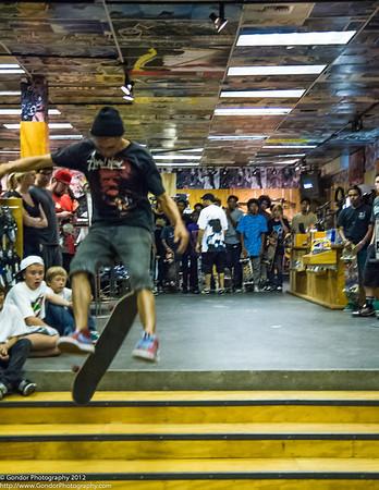 Skateboarding Contest in West LA