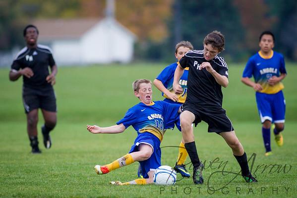 2014-10-16 AMS Soccer vs Prairie Heights