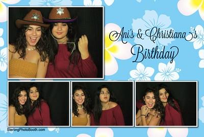Ani's & Christiana's Birthday