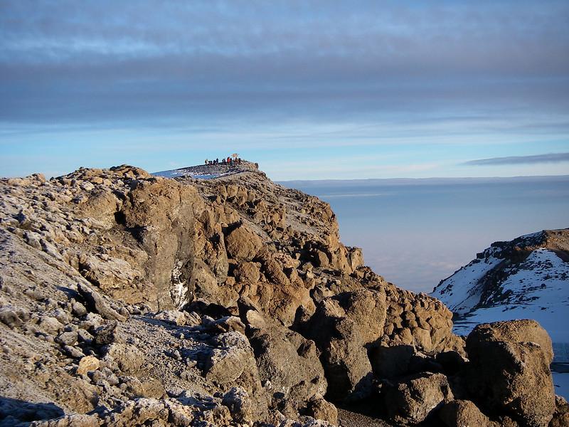 Finaly Uhuru Peak after 7 hrs