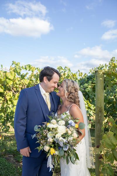St. John / Huber's Wedding: Vanessa + Stuart