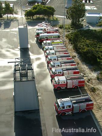 Fire & Rescue WA - Fleet Numbers