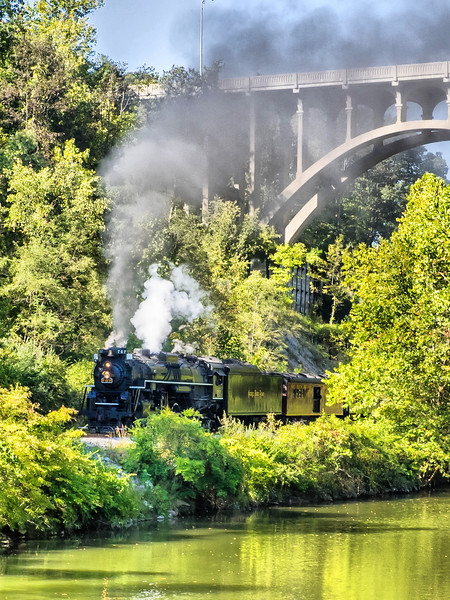 Steam Train Cuyahoga Vally 2016