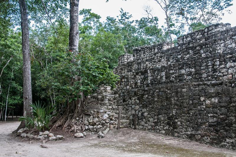 Mayan ruins in Mayan Riviera, Mexico