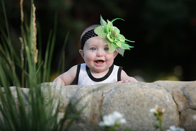 Briley's 6 month baby shoot