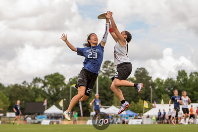 5-30-16 USA Ultimate D1 College Championships - Women's Division Final - Whitman Sweets v Stanford Superfly