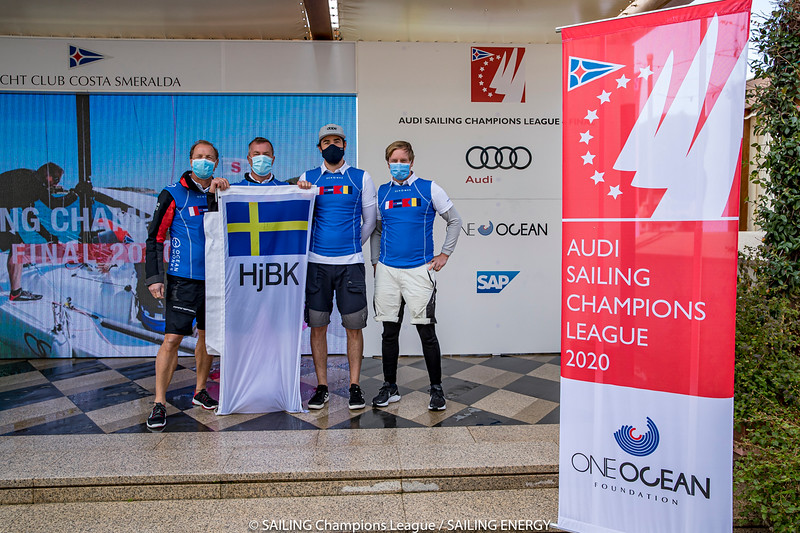The Audi SAILING Champions League Final 2020 takes place from 15 to 18 October in Porto Cervo, Italy, at the iconic Yacht Club Costa Smeralda (YCCS). Entering the competition are the best national teams of each National Sailing League in 2019 as well as the top teams qualified through the SAILING Champions League Qualifier 2020 at Lake Starnberg. The international field of high performance crews promises a tight outcome of the season final. YCCS is hosting a SAILING Champions League regatta for the sixth time, again having its long-time partners Audi and the One Ocean Foundation on board.  15 October, 2020 © SAILING Champions League / SAILING ENERGY