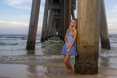 Graci Senior Pics Panama City Beach 2021