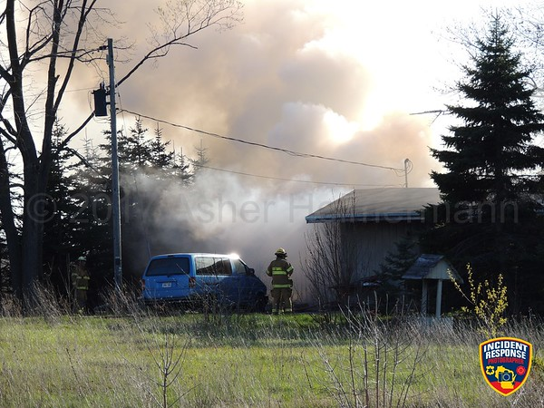 House fire on May 5, 2017