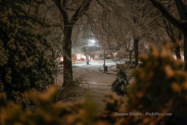 Snow January 2, 2014