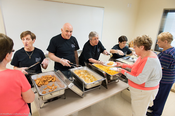 Christ Renews His Parish  Fish Dinner