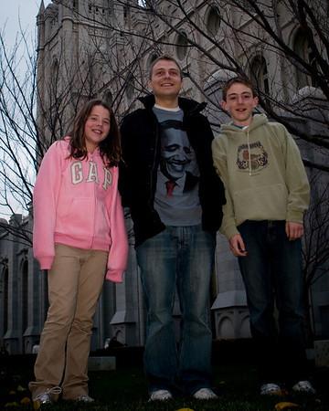 Thanksgiving 2008 - SLC