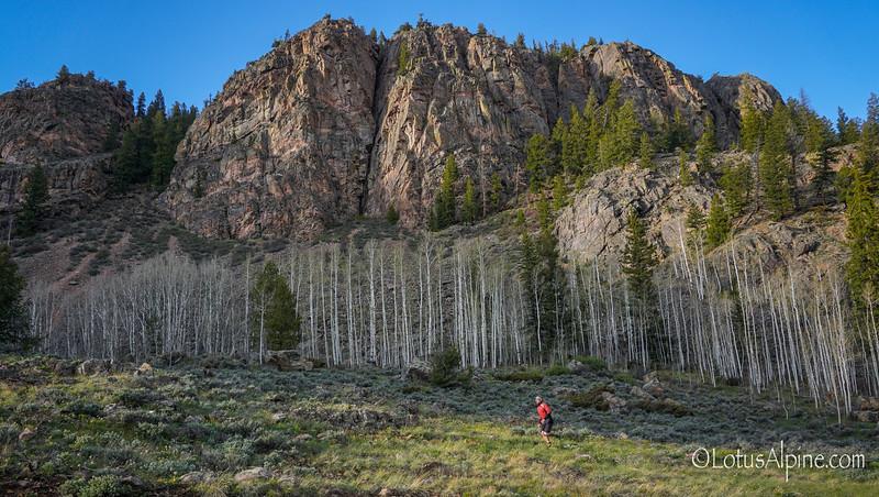 Trail Running....Cement Creek, CO