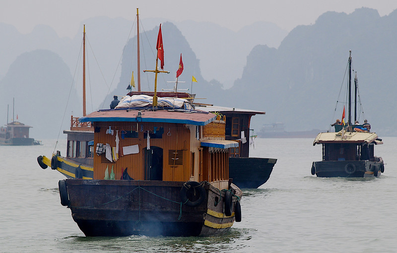 On the Bay of Ha Long (Foto: Geir)