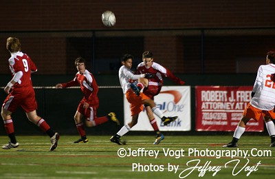 11-08-2010 Linganore HS vs Watkins Mill HS Boys Varsity Soccer, Photos by Jeffrey Vogt Photography