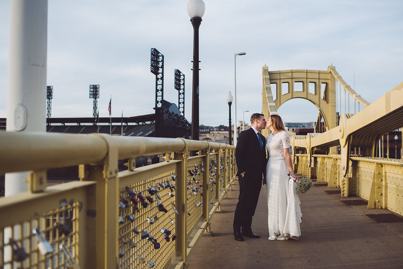 Pittsburgh Elopement Photographer - Monaco Bridge Downtown - Hadley-258.jpg