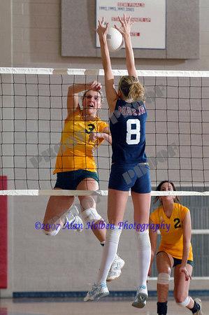 Girls Varsity Volleyball - Lumen Christi at Mason - Feb 22