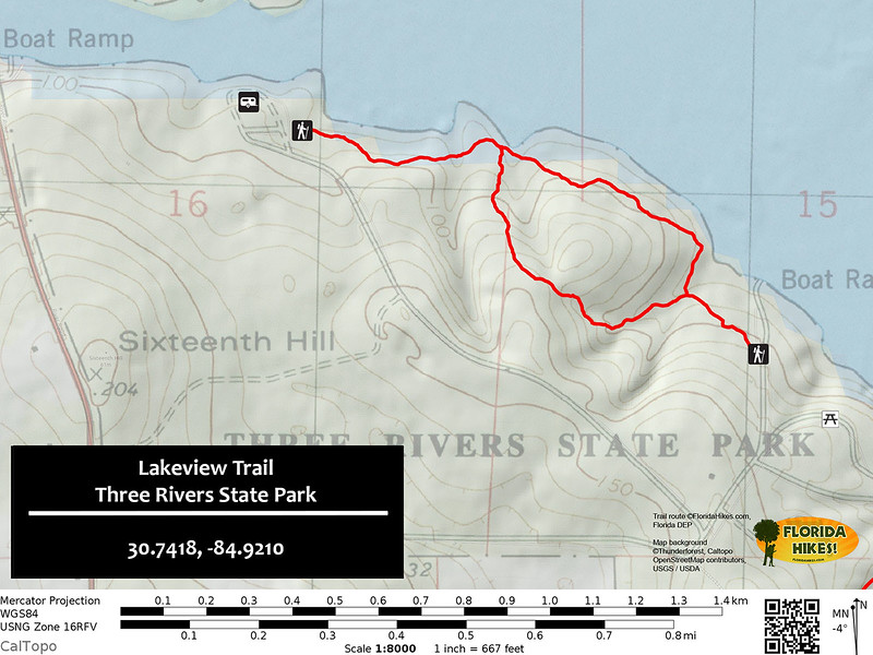 Lakeview Ridge Trail Map