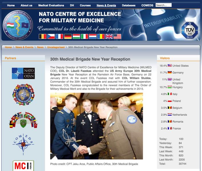NATO Centre of Excellence for Military Medicine