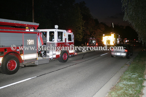8/29/10 - Delhi Twp extrication, 4900 block of W. Holt Rd