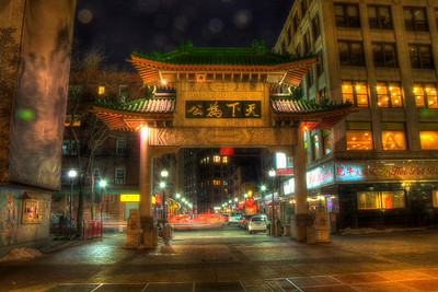 Boston Chinatown