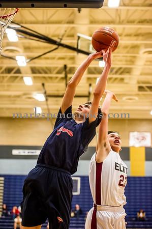 Basketball Springville vs Elite 3-16-2015