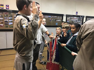 Chief silver scout award and enrollment