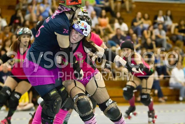 Big Easy Rollergirls vs. PRRD 1