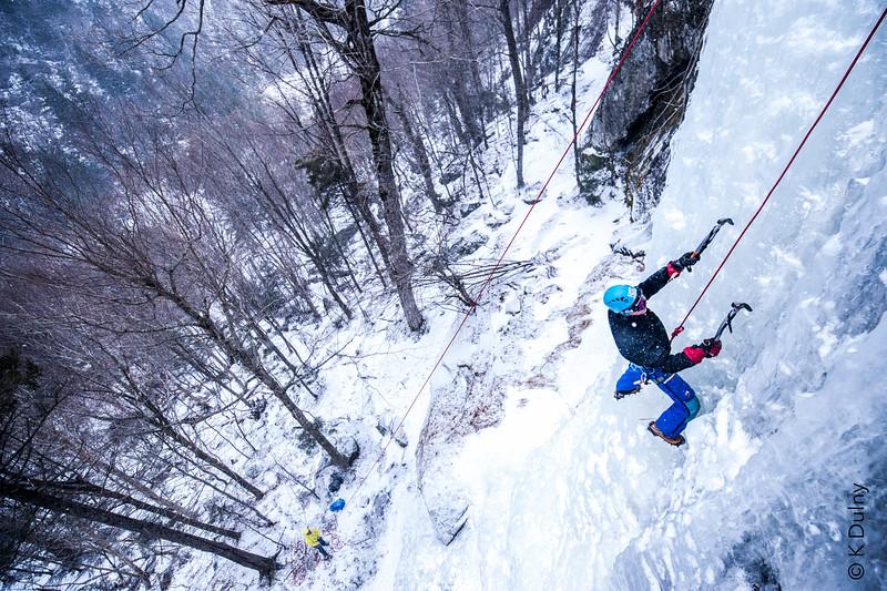 Ice Climbing in the Adirondacks