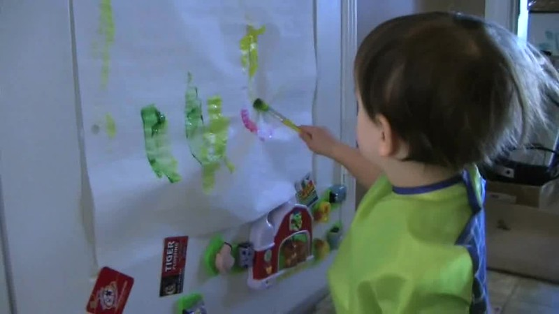 2009-02-26 Painting, Cold Hands and Kitchen Fun.wmv