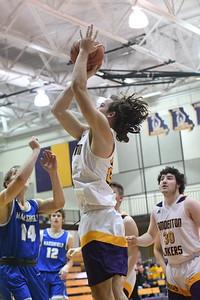 Laker Basketball vs Marshfield Senior Night