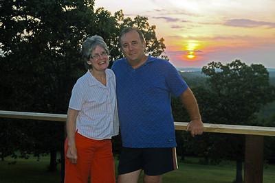 Billy & Belinda Visit the Ozarks - September, 2015