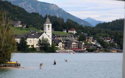 Austrija - Sveti Gilgen i Volfgang, 17.8.2019.