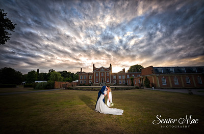 Tom and Natalie's Warbrook House Wedding