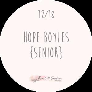 Hope Boyles