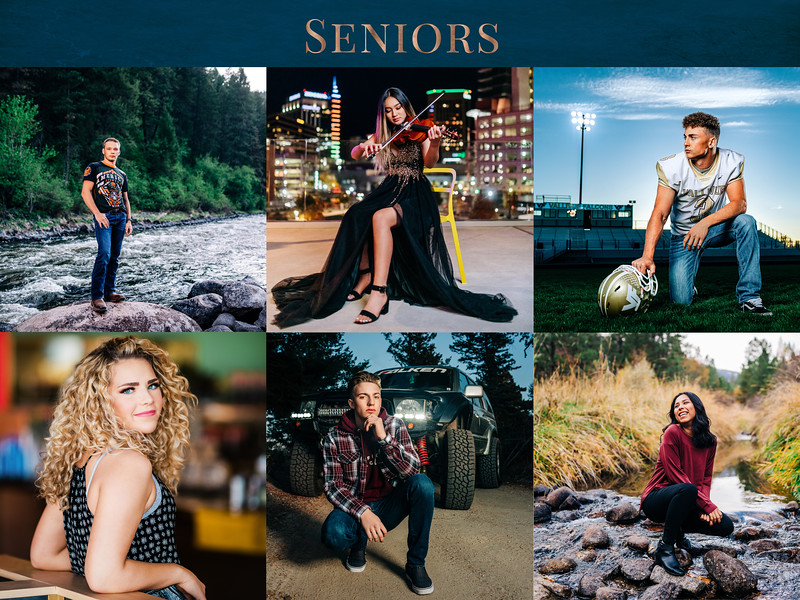 Modern Senior Photography