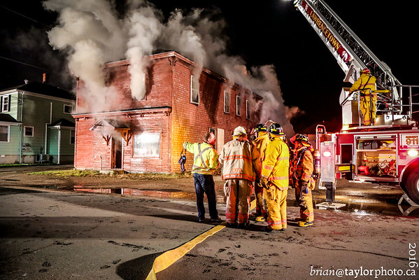 Structure Fire, Middleton, Nova Scotia, Nov. 20, 2016
