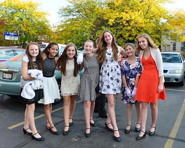 7th Grade - 1st Ballroom Dance at Woman's Athletic Club - Oct. 9, 2015