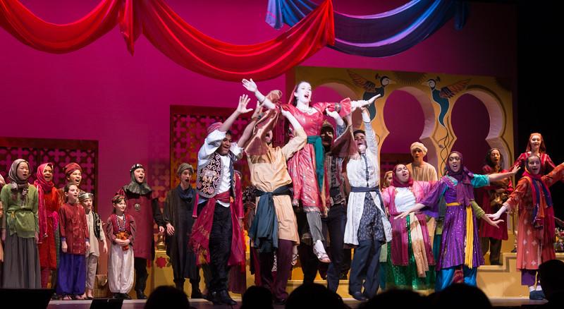 Kismet, Montgomery Blair High School spring musical, April 15, 2016 performance (Silver Spring, MD)