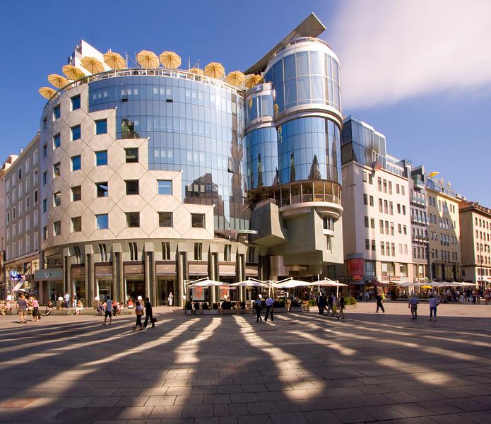 Building in Stephansplatz