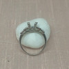 Antique 5-stone Setting, Platinum 10