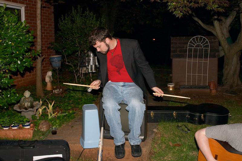 Steve is a drum tree