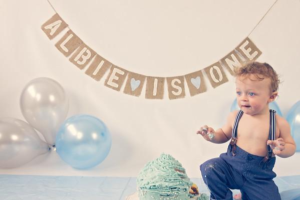 Albie - Cake Smash Photoshoot