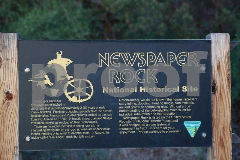 "Canyonlands, ""Newspaper Rock"" , 0492"